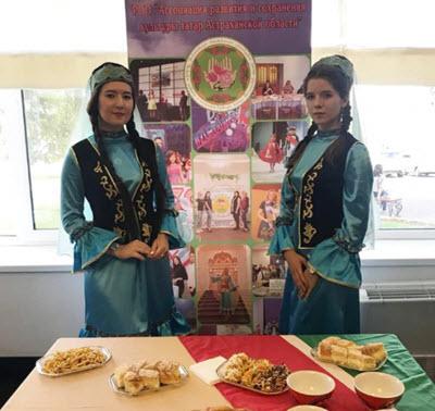 Astrakhan Tatars food