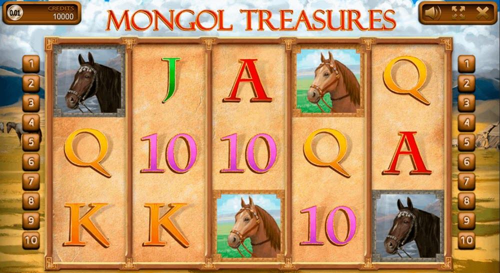 Mongol Treasures slot