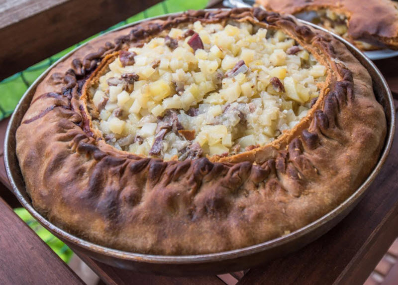 tatar food pie